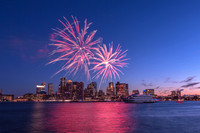 July 2, 2016 Boston Harbor Fireworks